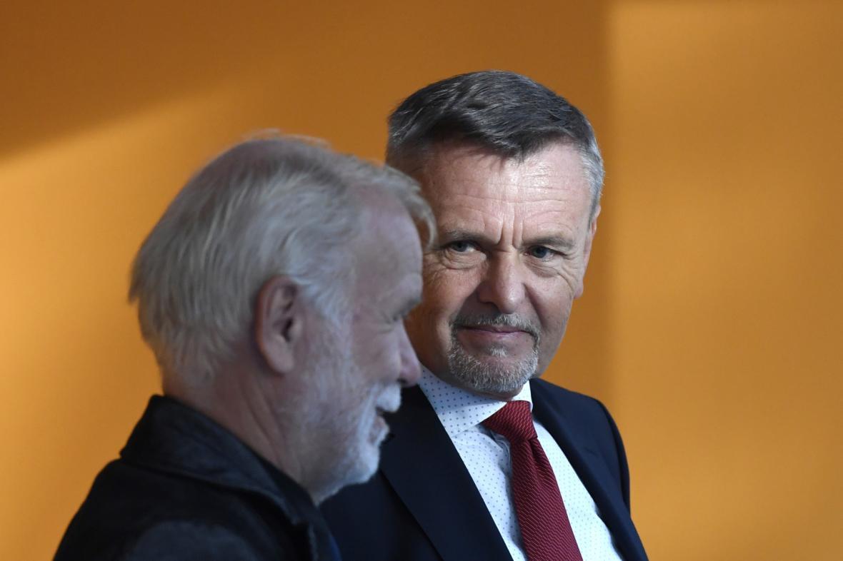 Tomáš Jílek (vlevo) a Alfréd Brunclík