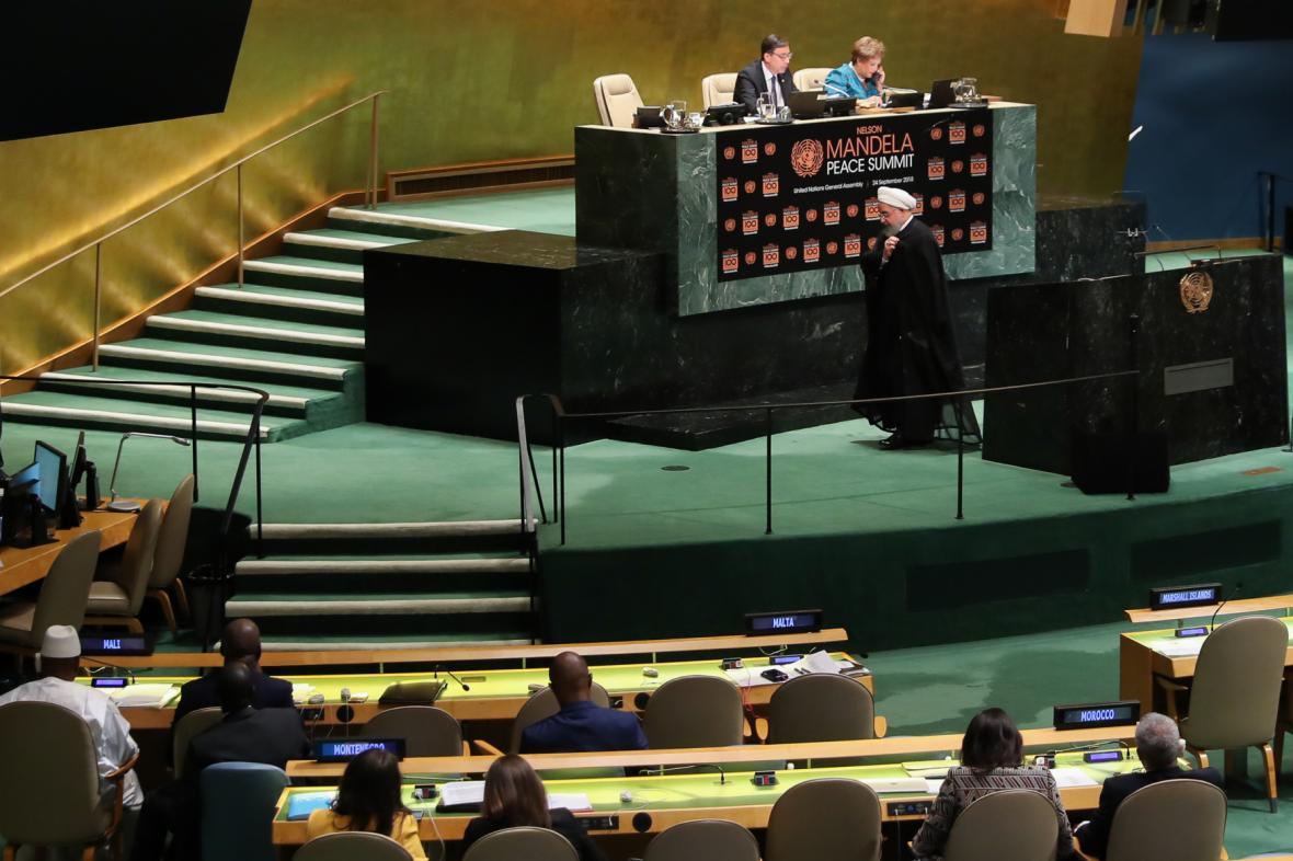 Valné shromáždění OSN v New Yorku