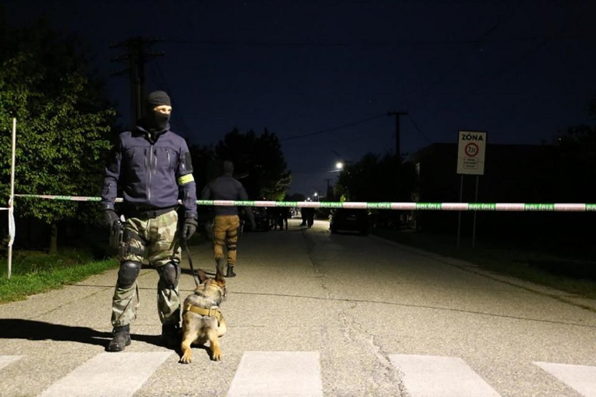 Mimořádný zásah Policie Slovenské republiky