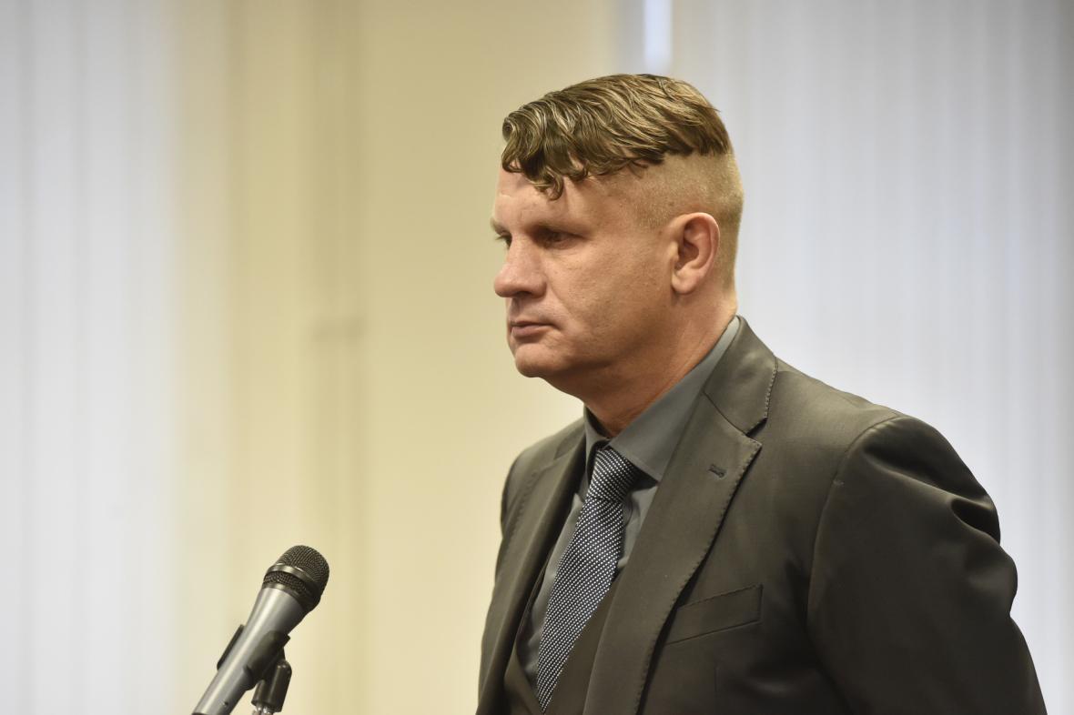 Bývalý elitní voják Dušan Faltýnek