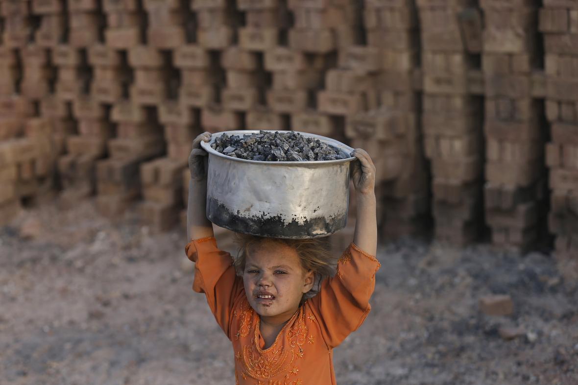 Dětská práce - ilustrační foto
