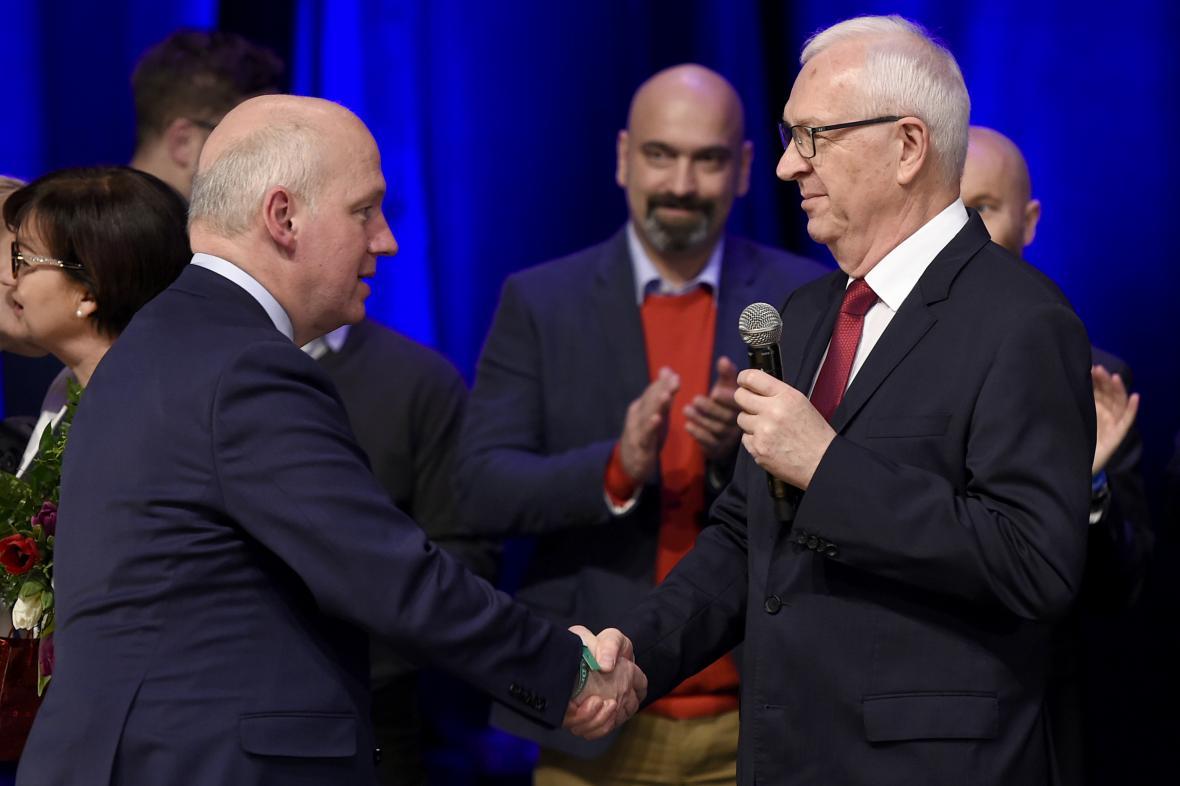 Pavel Fischer a Jiří Drahoš