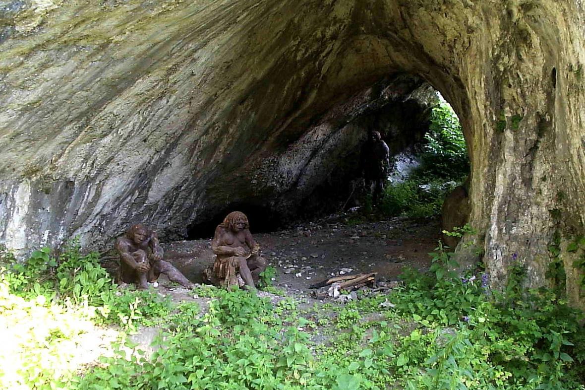 Temná jeskyně u Krakova
