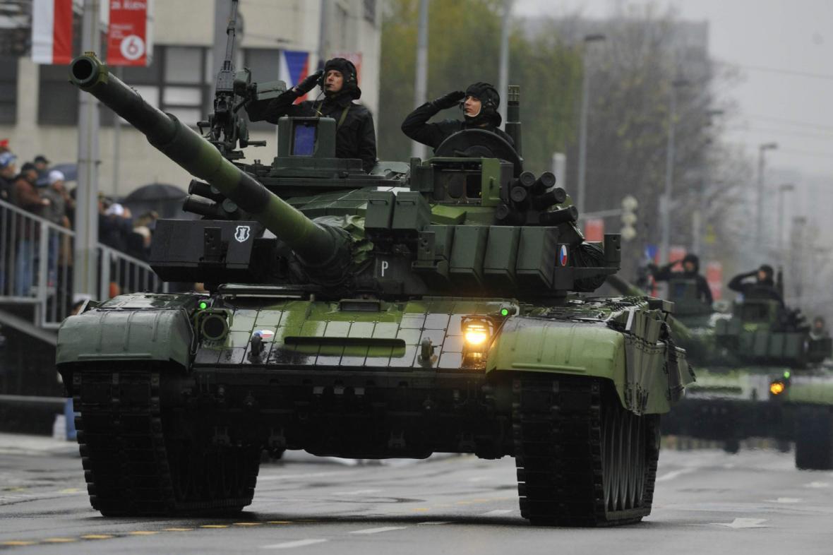 Přehlídka české armády