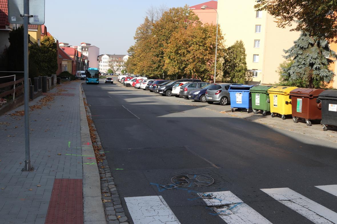 Na komplikace v dopravě narazí šoféři i na přerovské ulici Vsadsko