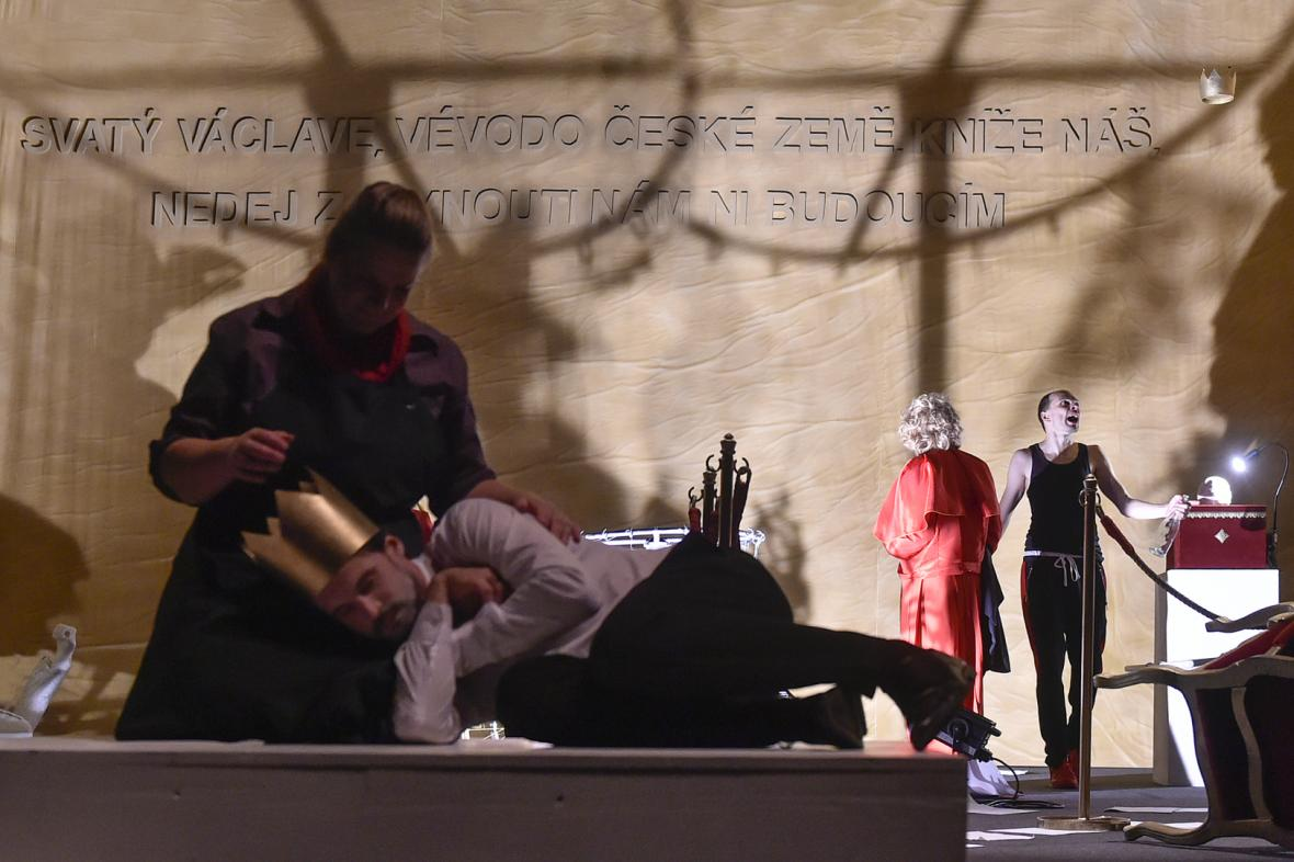 Hra Svatý Václav v Horáckém divadle