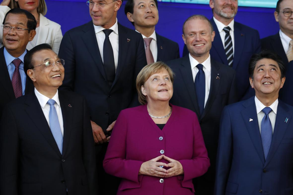 Summit ASEM v Bruselu