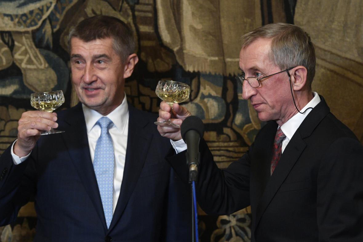 Jaroslav Petr a Andrej Babiš