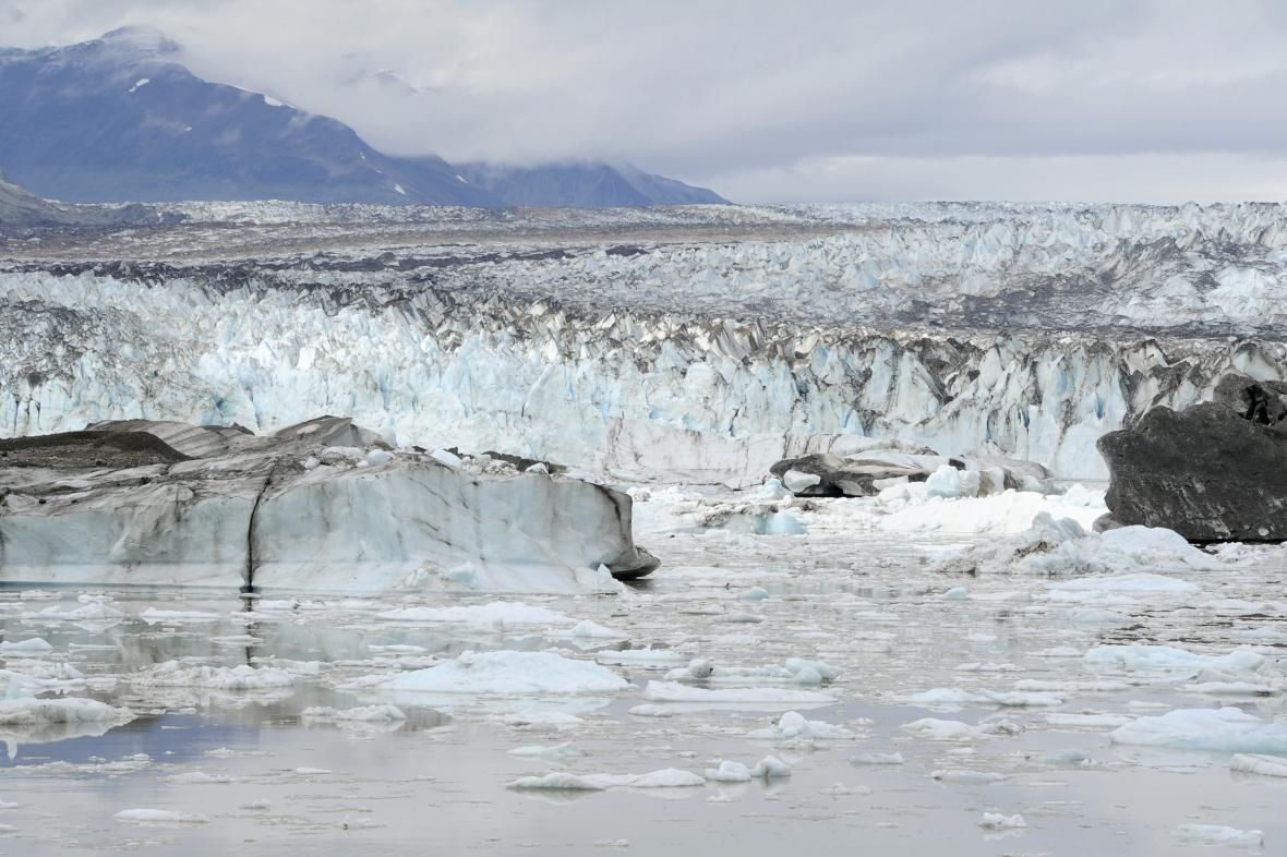 Lowellův ledovec na Yukonu