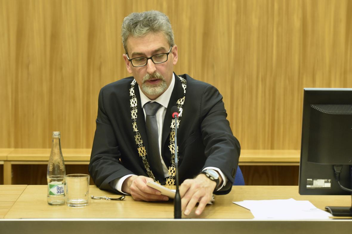Primátor Olomouce Miroslav Žbánek (ANO)