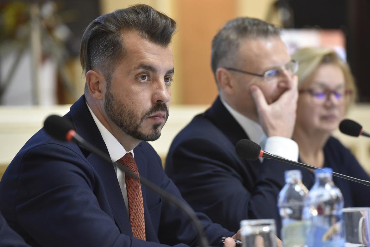 Krajský předseda ODS Michal Zácha