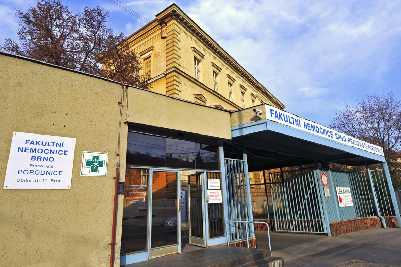 Budova porodnice na Obilním trhu v Brně