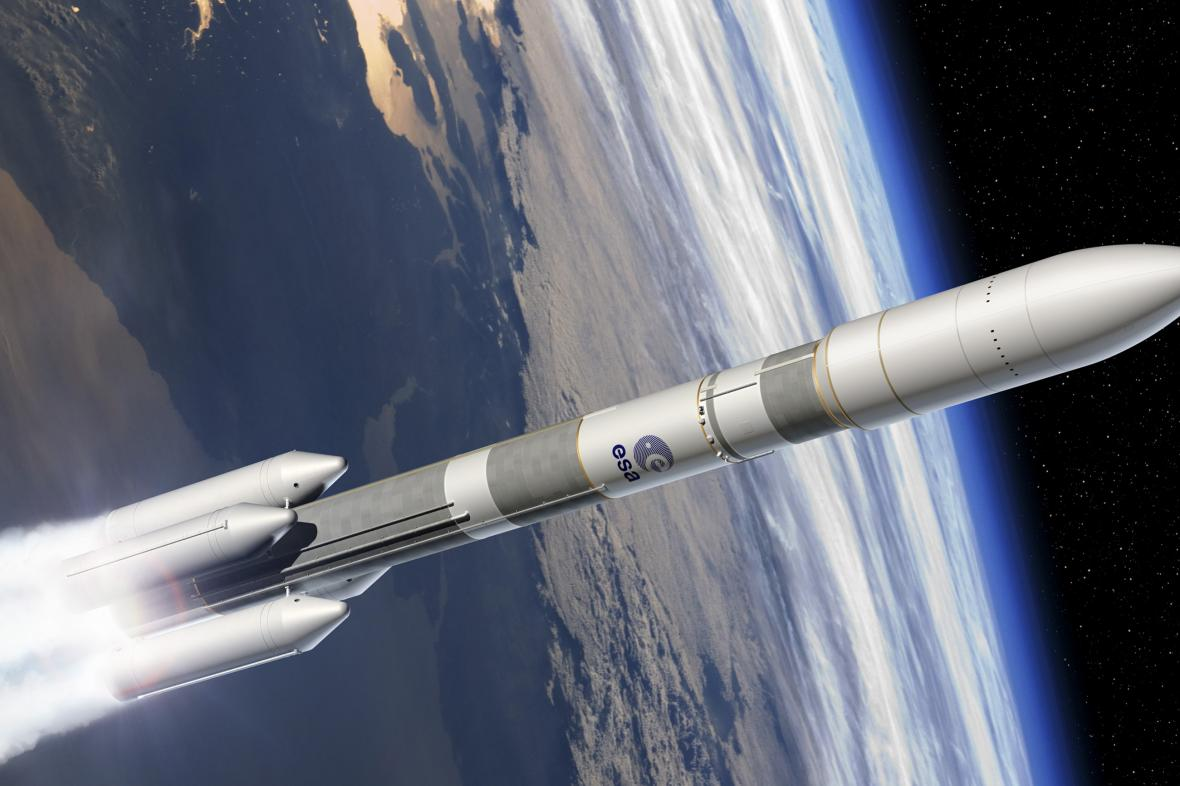 Vizualizace rakety Ariane 6