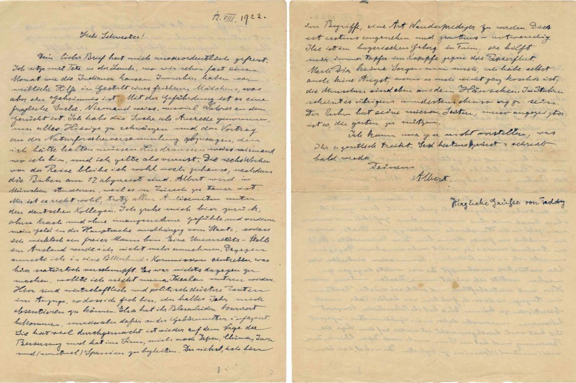Einsteinův milionový dopis