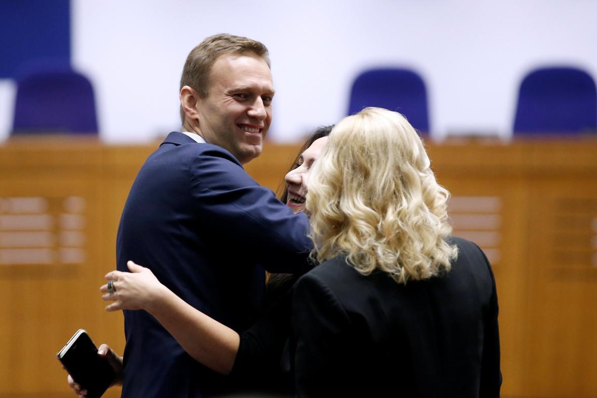 Alexej Navalnyj ve Štrasburku