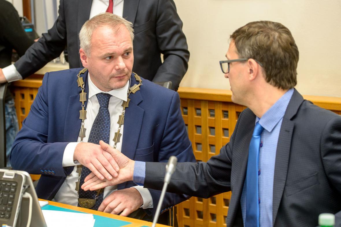 Chomutovský primátor Marek Hrabáč (ANO)
