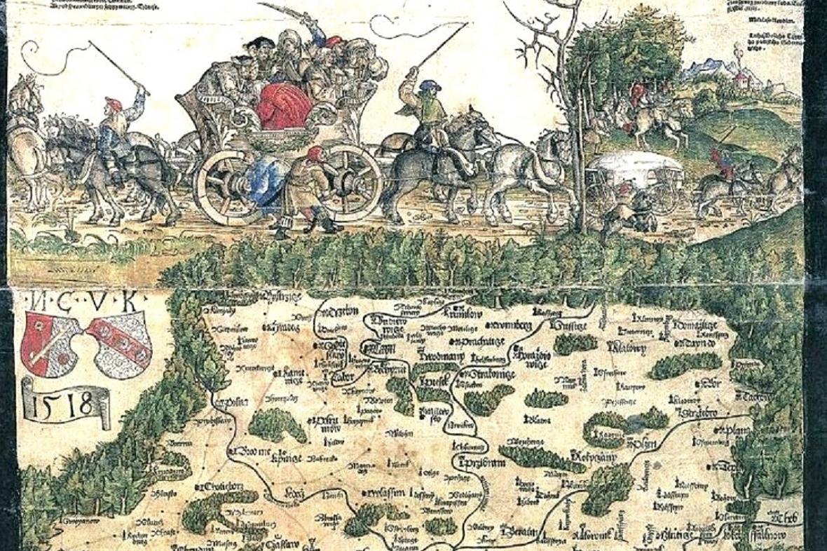 Klaudiánova mapa