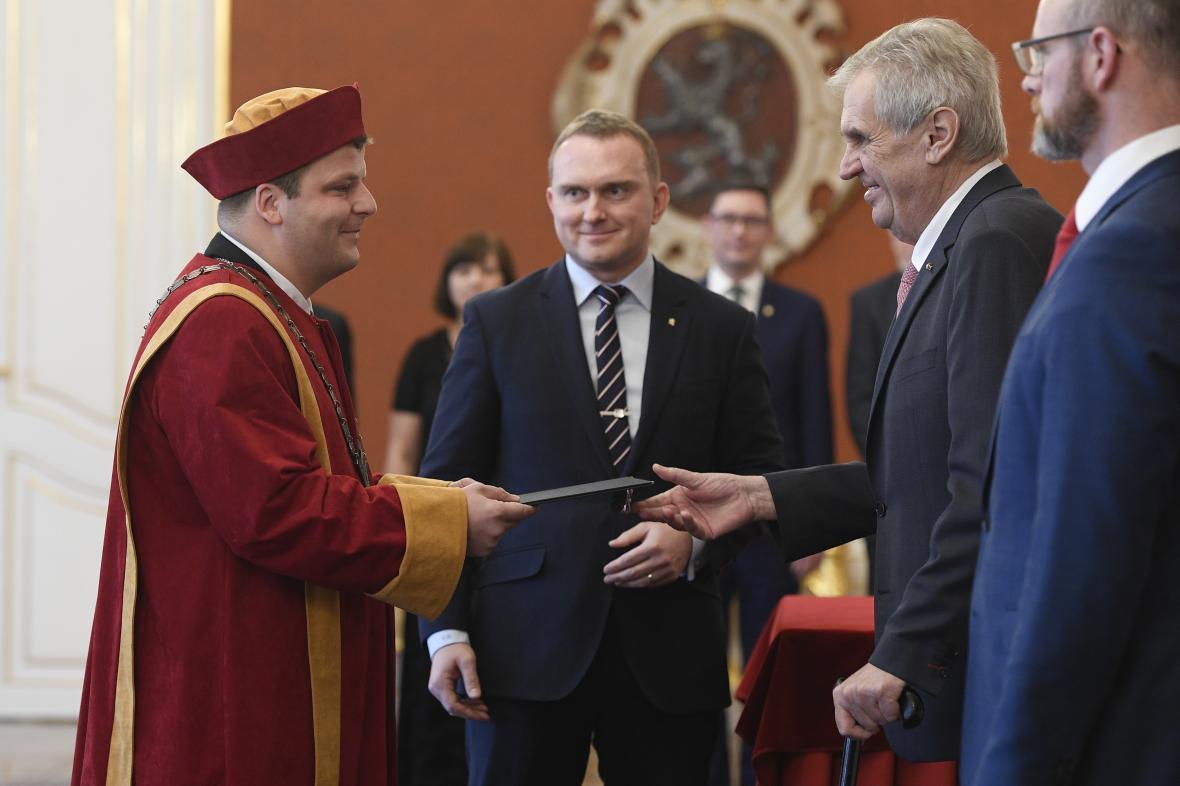 Vladimír Sedlařík se stal rektorem Univerzity Tomáše Bati ve Zlíně