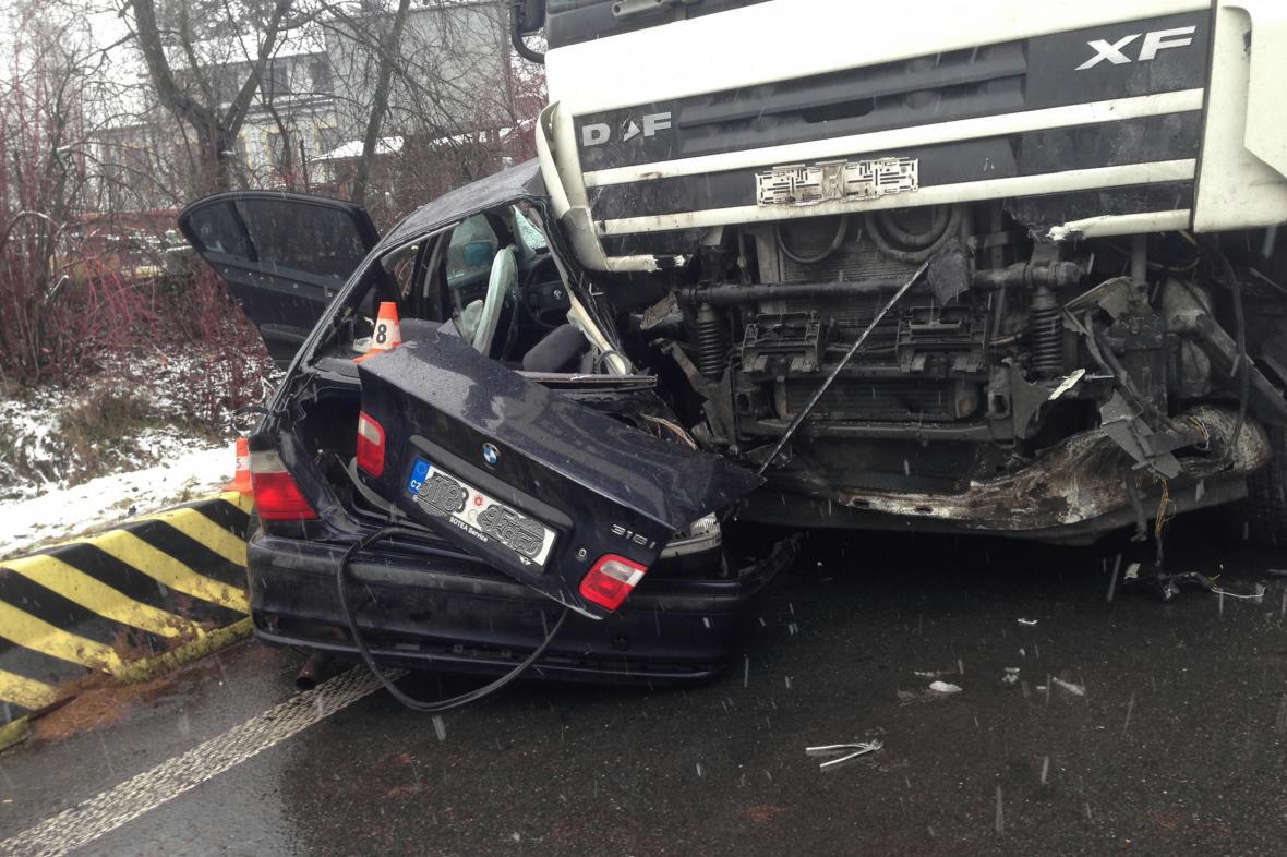 Úterní nehoda v Havířově