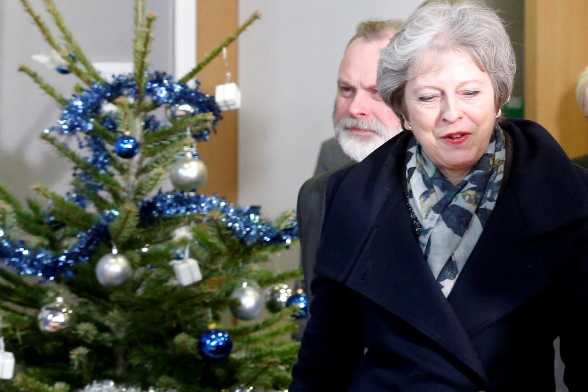 Theresa Mayová se snaží v Bruselu přesvědčit o nutných změnách v dohodě o brexitu