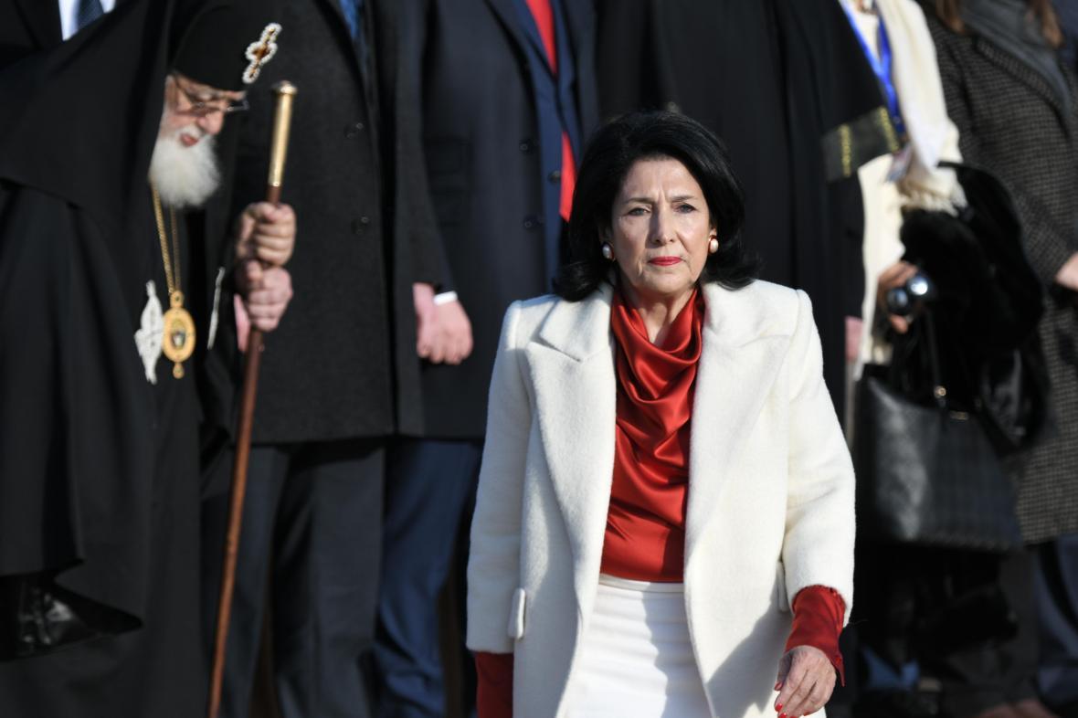 Salome Zurabišviliová