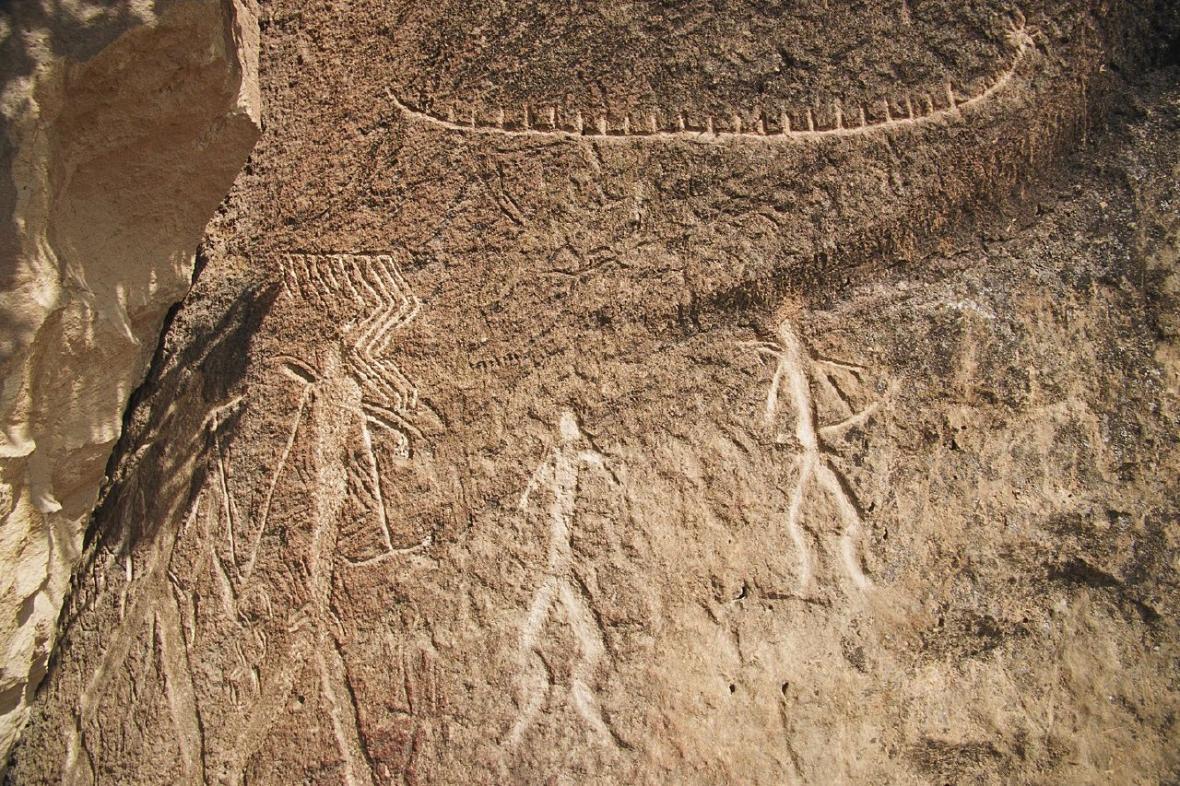 Skalní umění z Gobustánu
