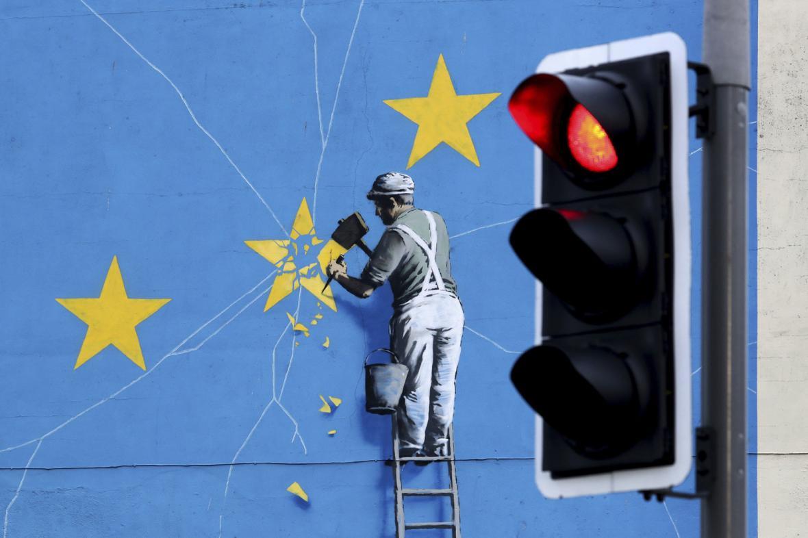 Demonstrace pro a proti brexitu