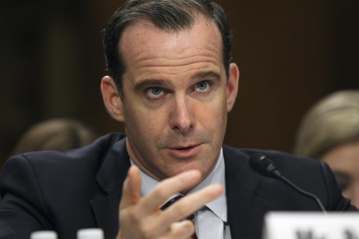Brett McGurk, vyslanec USA u mezinárodní koalice bojující proti IS