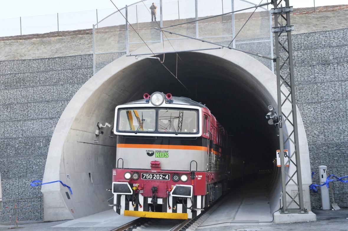 Ejpovický tunel je nejdelším svého druhu v Česku