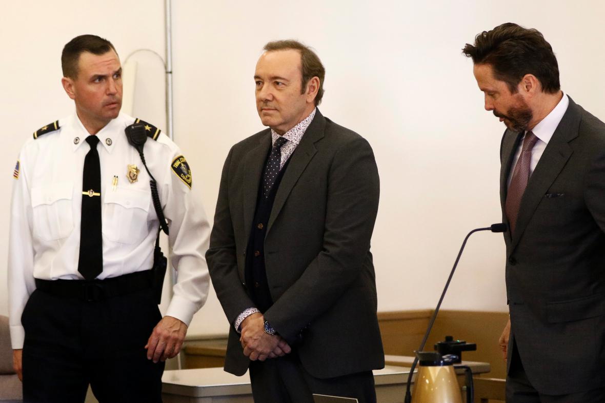 Kevin Spacey před soudem