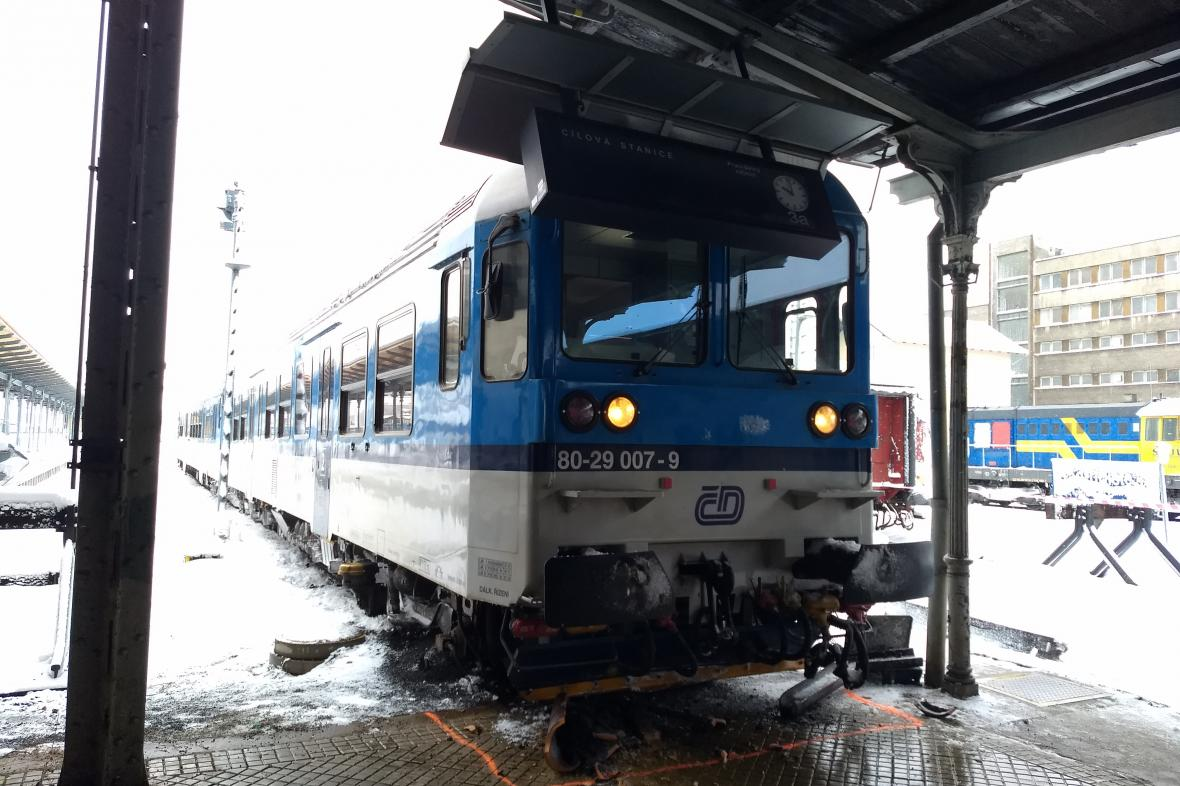 Nehoda vlaku v Liberci
