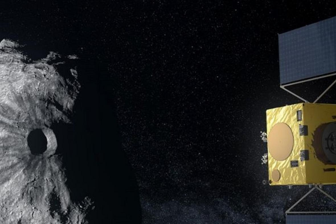 Satelit u asteroidu Didymos