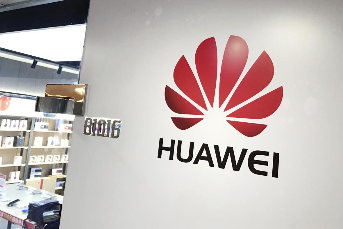 Obchod Huawei v Číně
