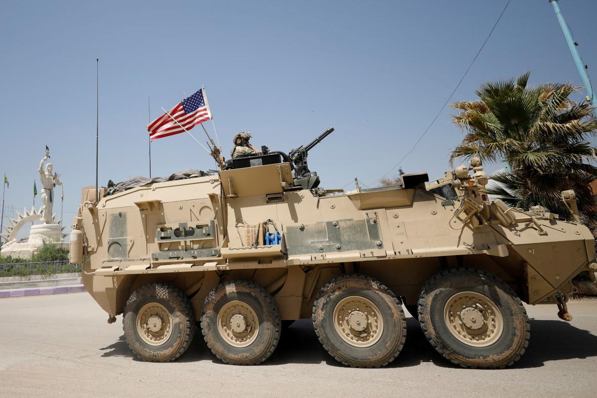 Americká armáda v Sýrii