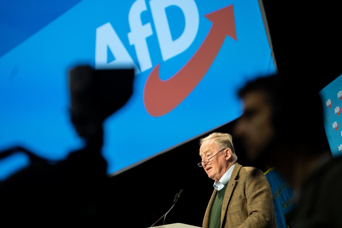 Předseda AfD Alexander Gauland