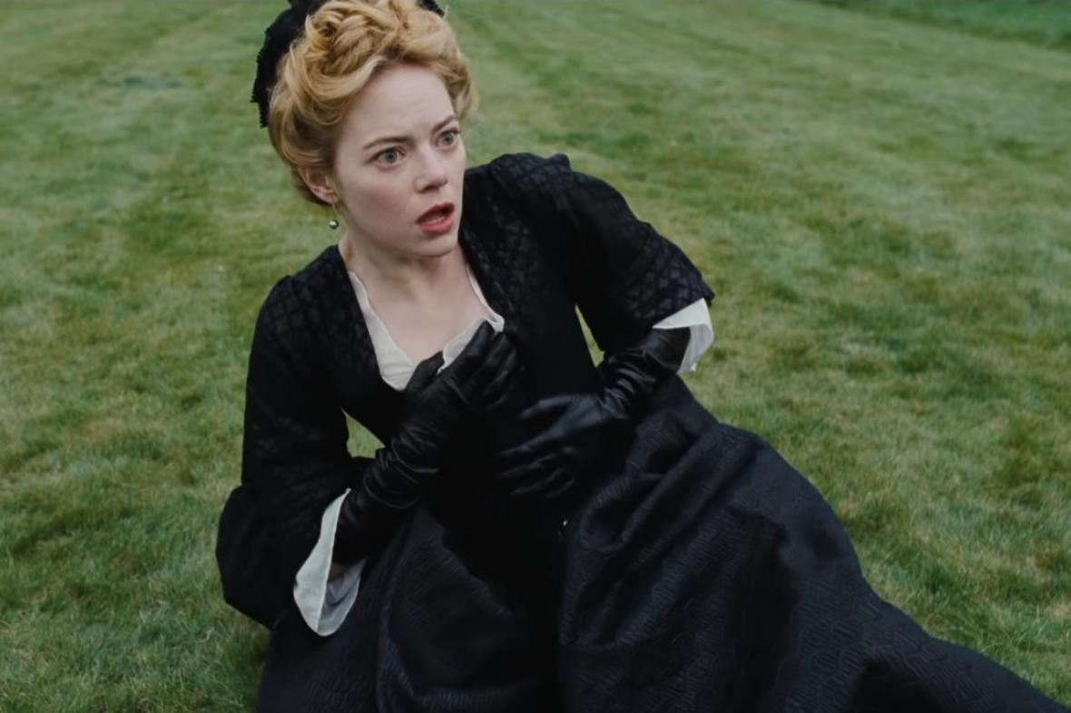 Favoritka, na snímku Emma Stoneová