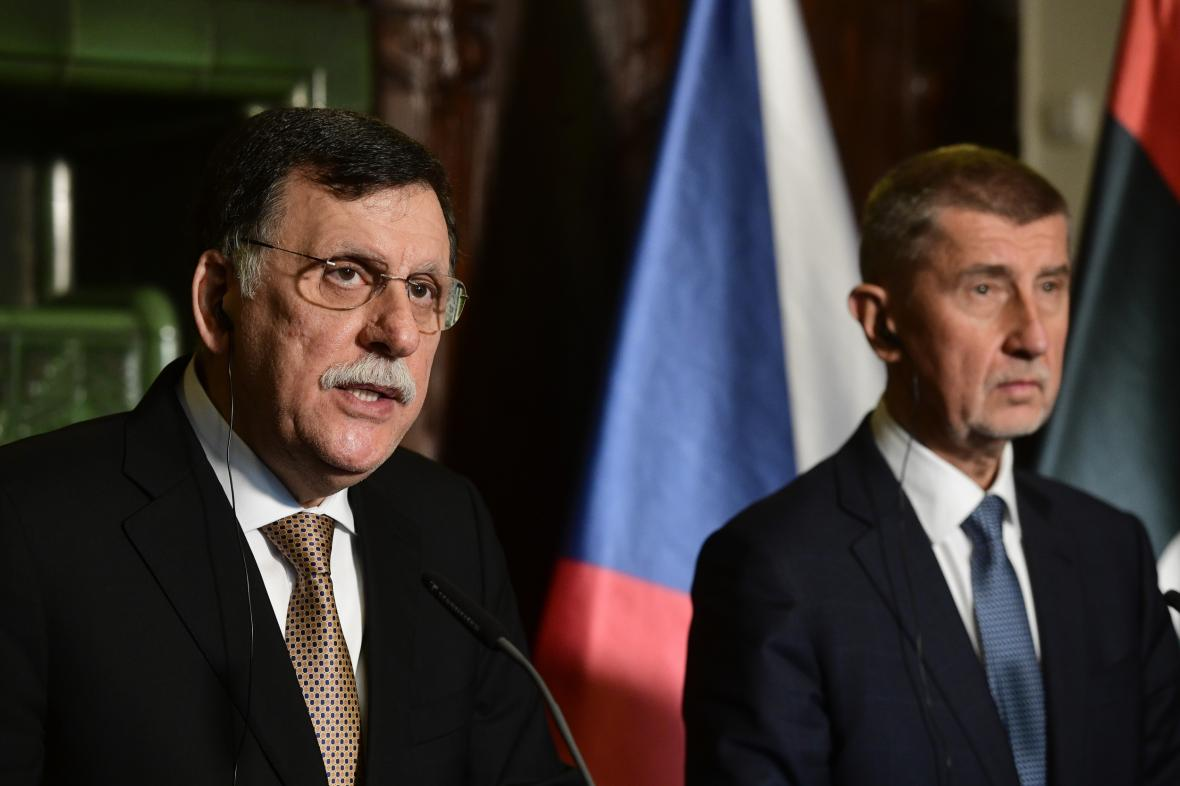 Fáiz Sarrádž a Andrej Babiš