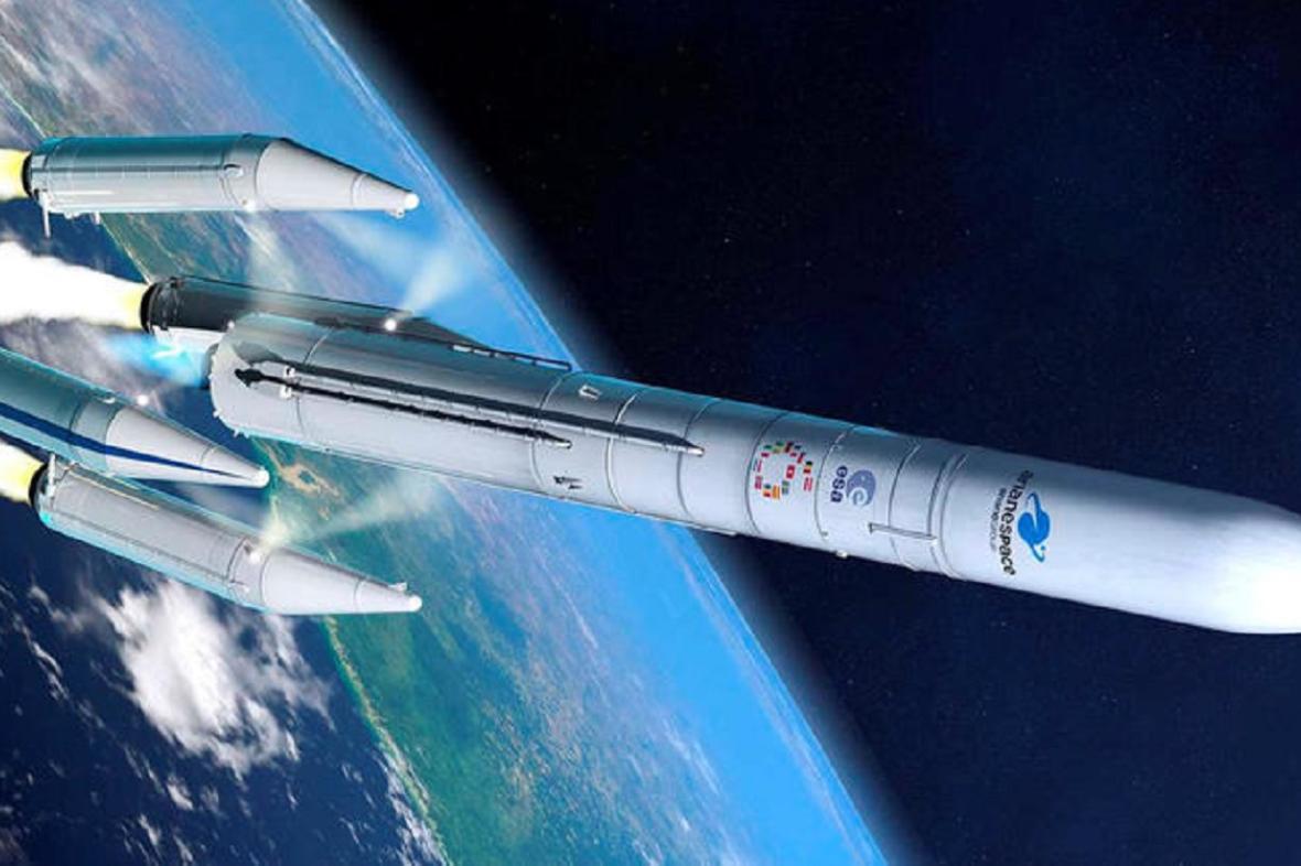 Vizualizace Ariane 6
