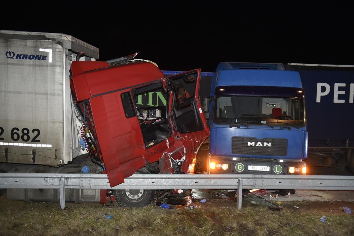 Nehoda na dálnice D2