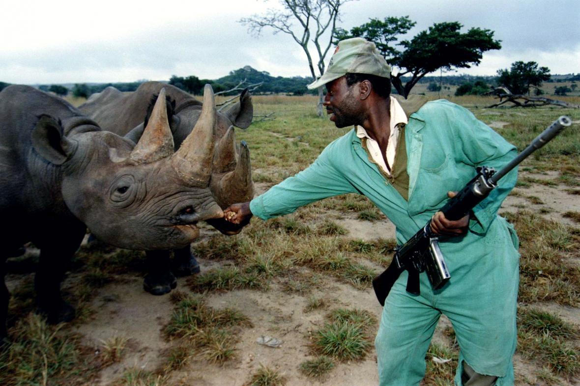 Ochránci nosorožců