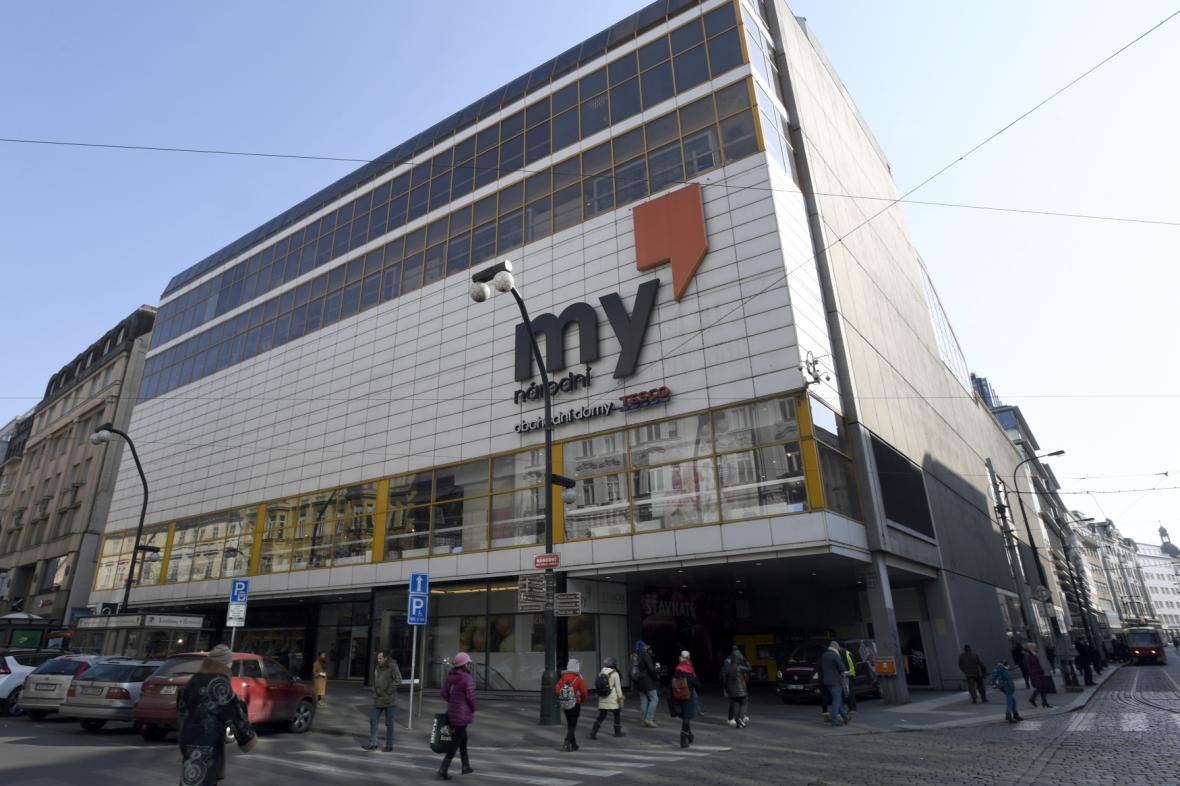 Obchodní dům Máj (na snímku z roku 2018)