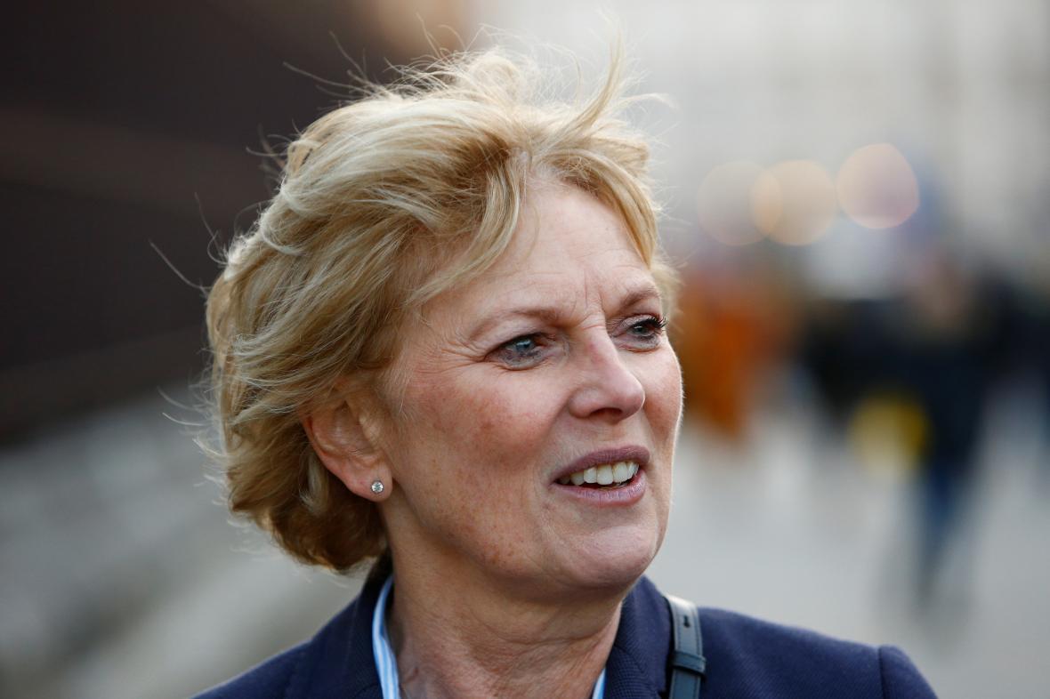 Poslankyně Soubryová, která oznámila odchod z Konzervativní strany