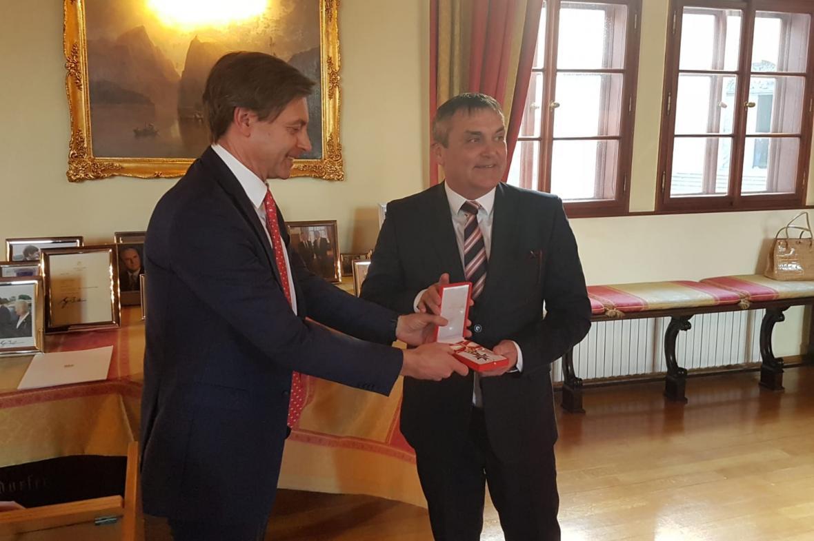 Alexander Grubmayer a Petr Vokřál