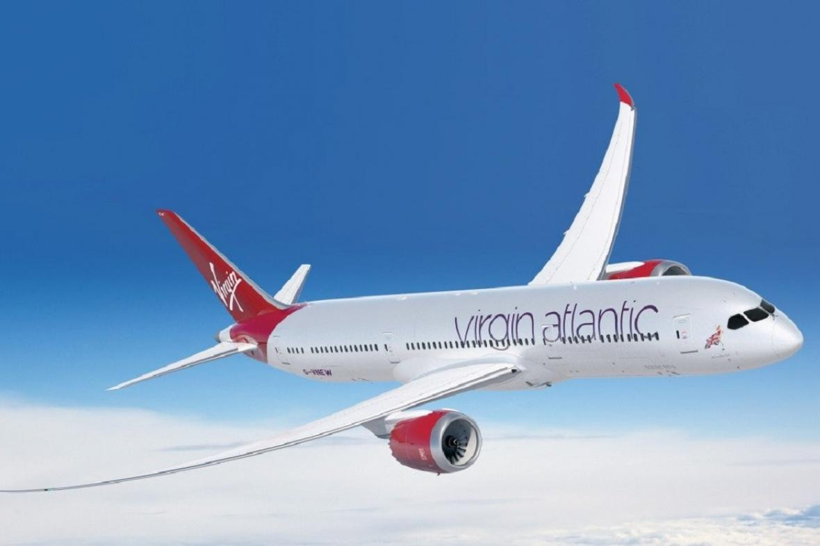 Boeing 787-7 společnosti Virgin