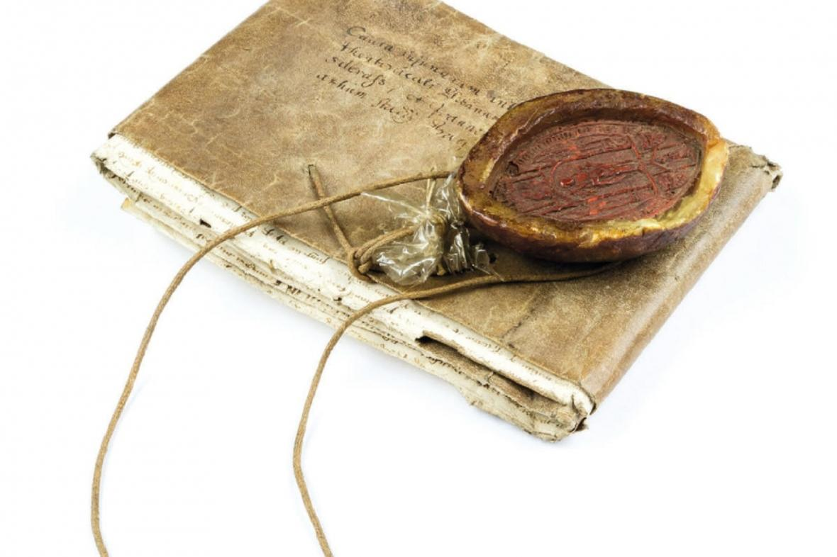 Vzácný dokument z roku 1414