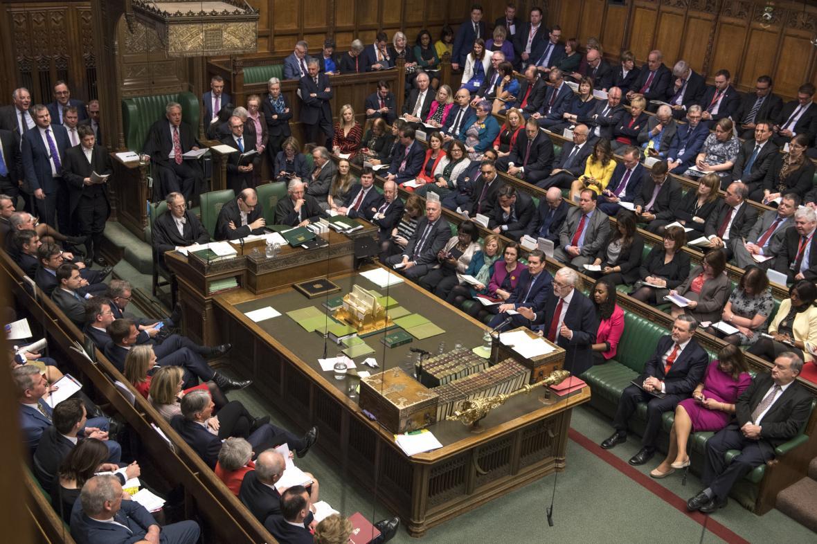 Britská Dolní sněmovna