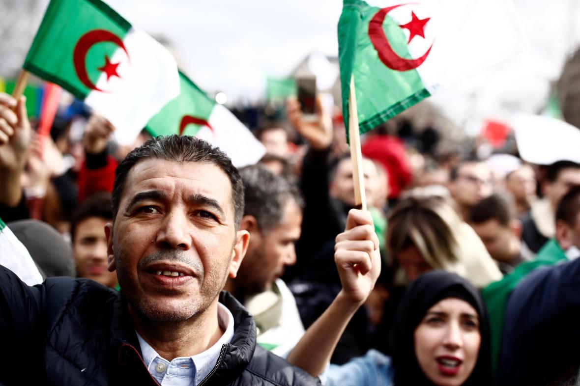 Demonstrace v Alžírsku