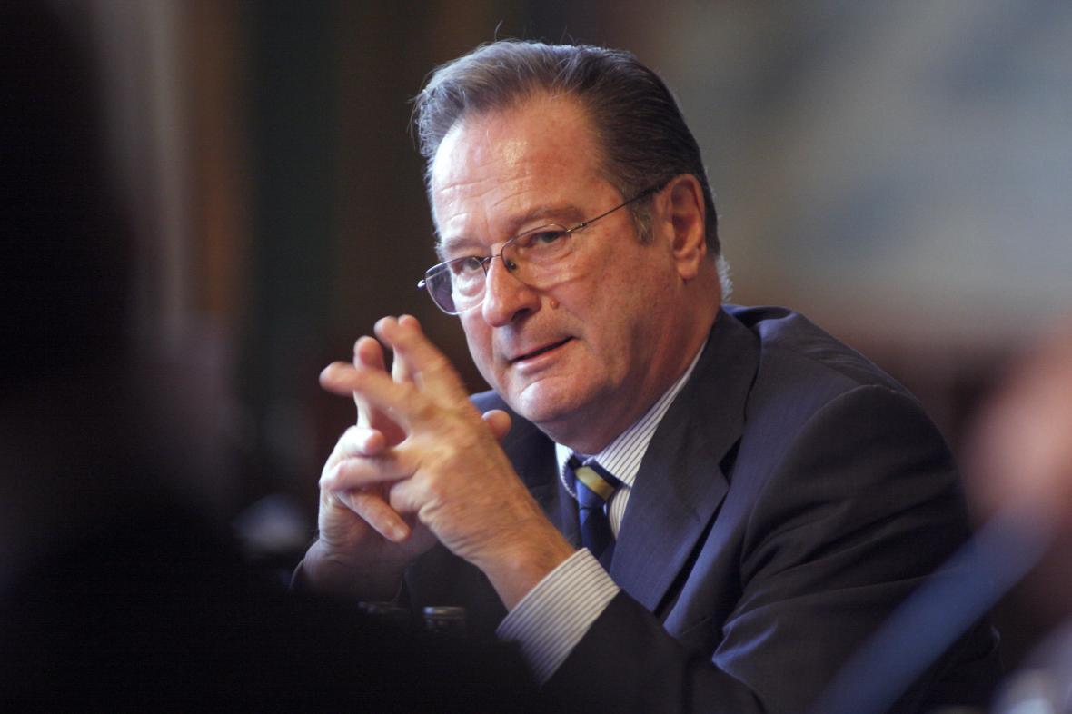 Klaus Kinkel v roce 2010