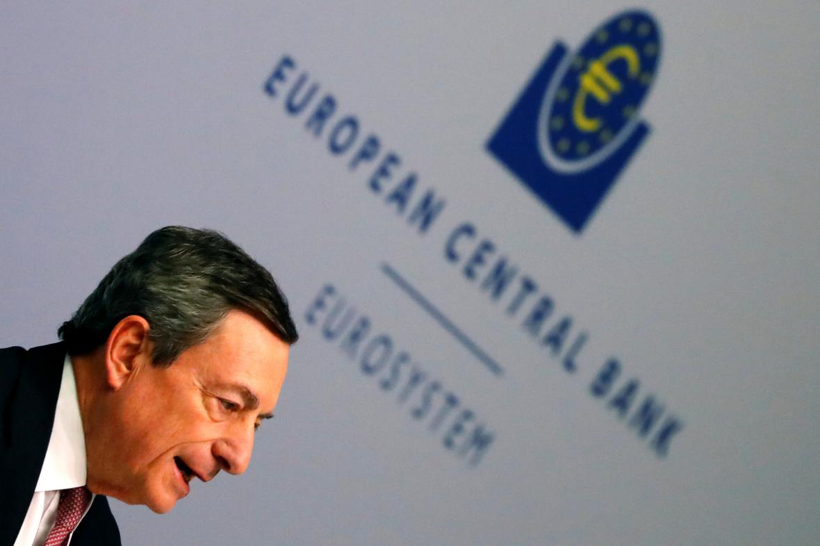 Šéf Evropské centrální banky Mario Draghi