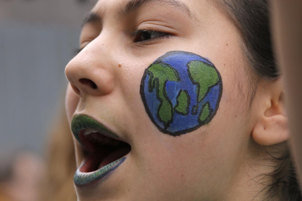 Demonstrace proti klimatu